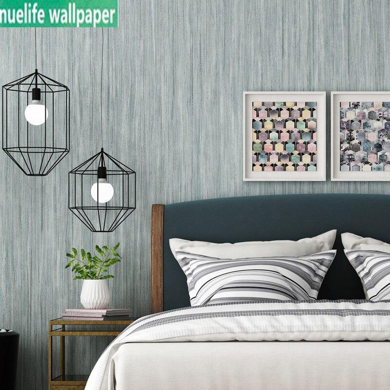 Simple plaine style papier peint gris nordique moderne chambre étude salon passerelle enfants chambre boutique non-tissé papier peint