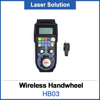 Newest CNC Wireless RF Electronic Handwheel HB03 Remote Pendant MPG USB Hand Wheel for CNC Router Engraving Machine