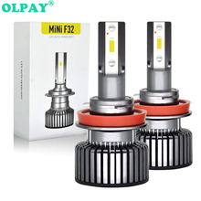 цена на OLPAY Car Headlight H7 H4 LED H8/H11 HB3/9005 HB4/9006 H1 H3 9012 H13 9004 9007 60W 6000lm Auto Bulb Headlamp 6000K Light