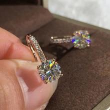 Modyle luxo feminino cristal zircon pedra brincos moda prata cor jóias do vintage brincos de gota dupla para mulher