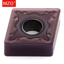 Mzg CNMG120404 CNMG120408 ミリメートル ZP1521 ボーリング cnc ステンレス鋼加工の切削工具タングステンカーバイドインサート