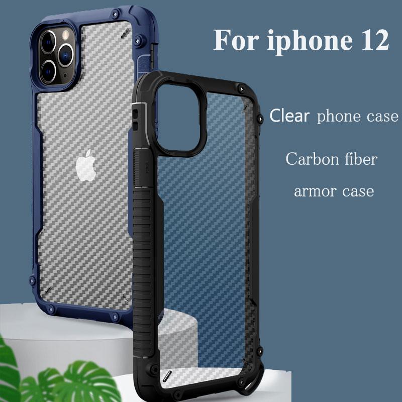 12 pro max 5 11 Pro 12 pro Carbon alfa Case for iPhone 12 mini 7 8 7+ XR XS Max 5S 6 6S + 12 5SE 11 Pro MaxXS 6S 11 8+ 6+ X