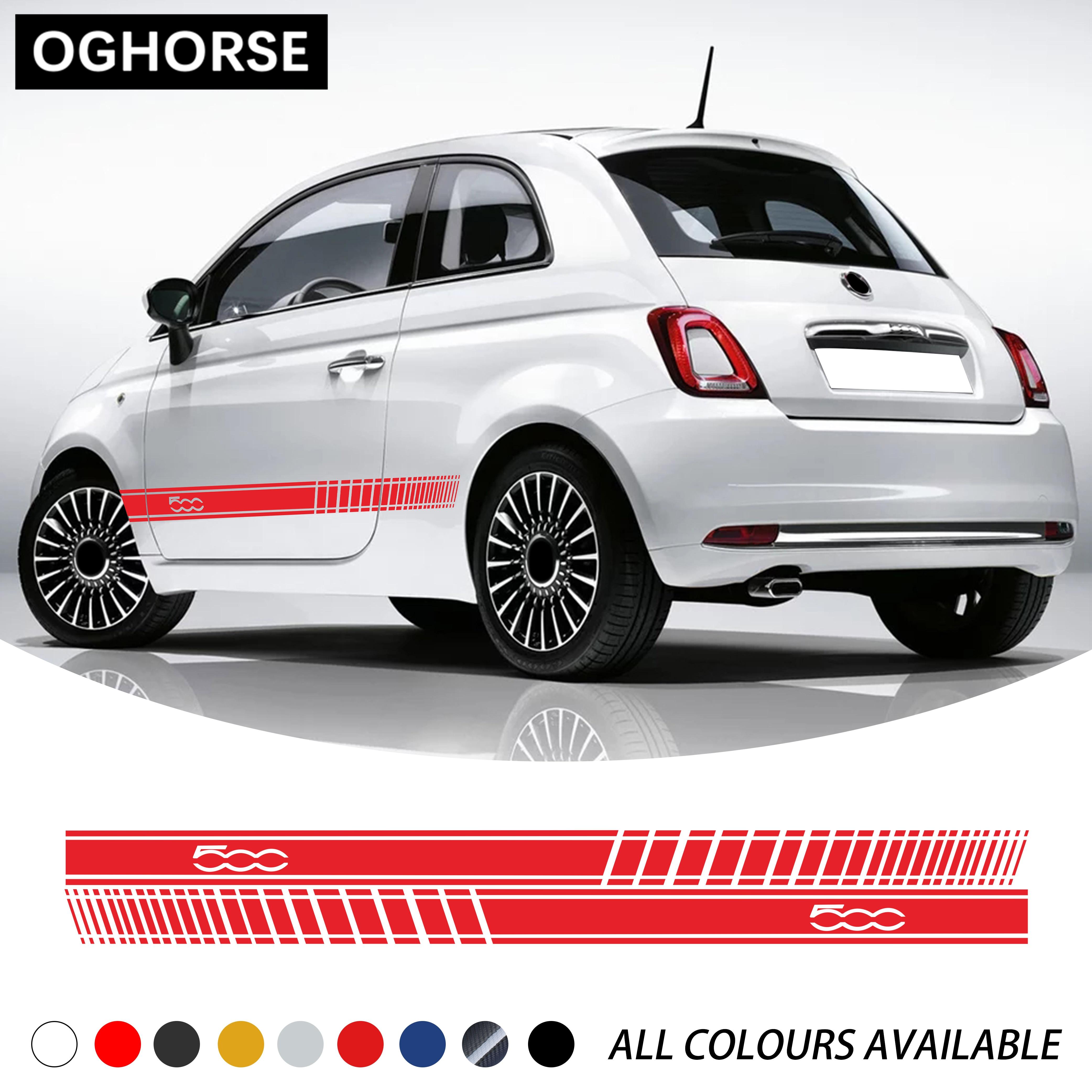 Hinten Aufkleber 3D Aufkleber Emblem Fiat Abarth Neu Bravo Motorhaube Vorne