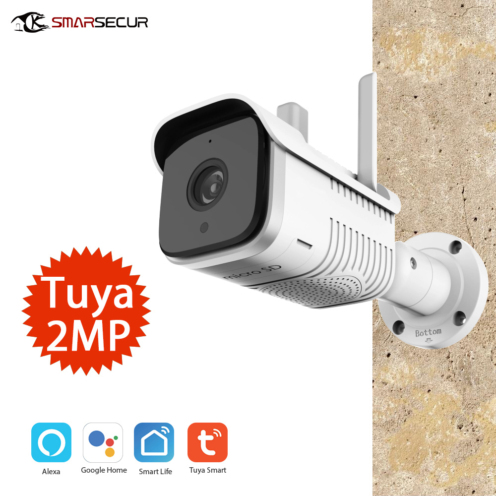 1080p Outdoor Ip Camera Waterproof Wifi Security Camera Night Vision Motion Detection Outdoor Camera Exterieur Camaras Surveillance Cameras Aliexpress