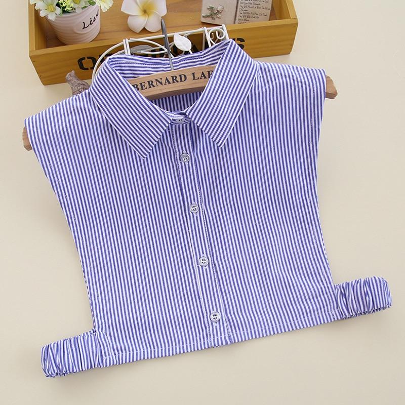 Autumn And Winter Decorative Fake Collar Women's Shirt Collar Cotton Fake Collar Korea Wild Professional Fake Collar