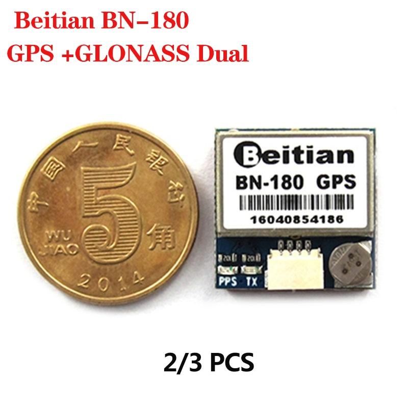 BEITIAN BN-180 Small Size GPS Module GLONASS Dual GNSS UART TTL level GPS Modules For RC Drone CC3D F3 Flight Controller Parts