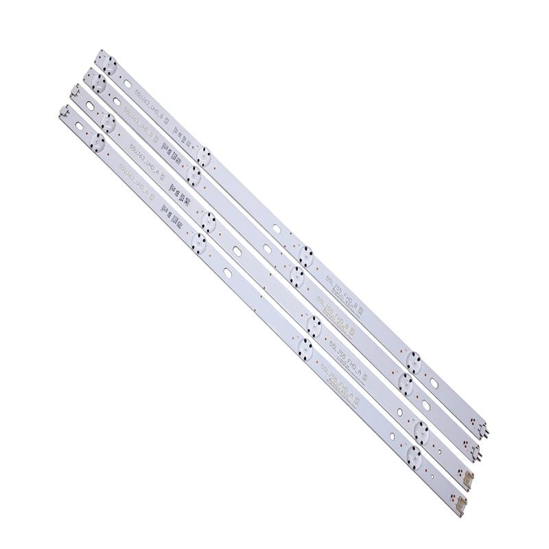 (New Kit) 10 PCS/set LED Backlight Stip For LG 55UJ630V 55UJ6300 55UJ63_UHD_A 55UJ63_UHD_B 55LJ55_FHD_A 55LJ55_FHD_B