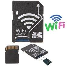 Микро SD TF для SD карты Wifi адаптер для камеры Фото беспроводной для телефона планшета* dls