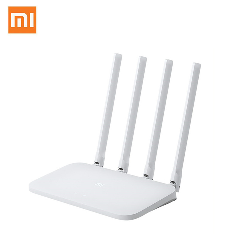Xiaomi Original Mi WIFI Router 4C 64 RAM 300Mbps 2.4G 802.11 B/g/n 4 Antennas Band Wireless Routers WiFi Repeater APP Control