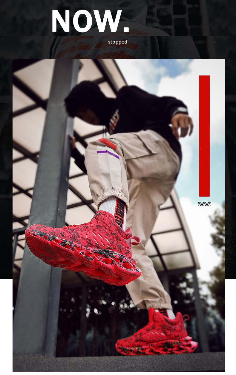 H669de525bb9642f18e7d2a2c77d670812 Fashion Men's Hip Hop Street Dance Shoes Graffiti High Top Chunky Sneakers Autumn Summer Casual Mesh Shoes Boys Zapatos Hombre