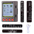 Testeur de batterie pour iPhone XR XS XS MAX X 8 8P 7 7P 6S 6 pour pour iPhone testeur de câble USB pour Android contrôleur de batterie Cycle clair