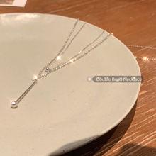 Женское длинное ожерелье 2020 новое с кулоном в стиле lego простое