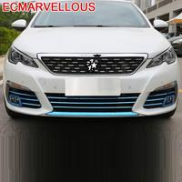 Grille Wing Mirror Automobile Chromium Decorative Modified Car Styling Modification Bright Sequins Covers 18 19 FOR Peugeot 308