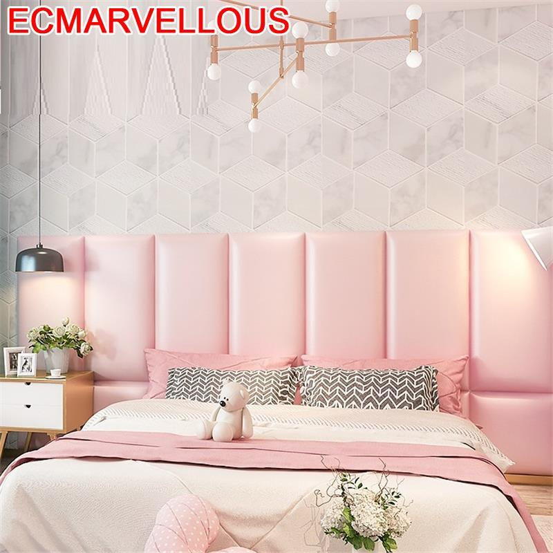Cushion Cabezero Polipiel Coussin T Te Cabezal Children 3D Wall Sticker Cabeceira Pared Cabecero Cama Bed Tete De Lit Headboard
