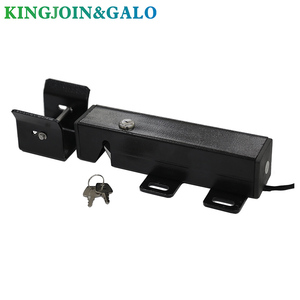 Image 3 - DC24V Electric Gate Latch Lock for Swing Gates Double or Single leaf