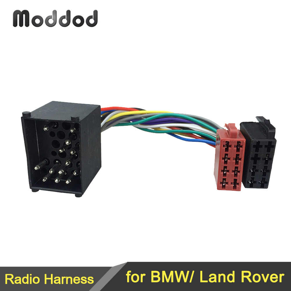 Iso Wiring Harness Adaptor For Bmw 3 5 7 8 Series E46 E39 Land Rover Discovery Mini Cable Plug Adaptor Connector Harness Adaptor Wiring Harness Adaptoriso Wire Harness Aliexpress