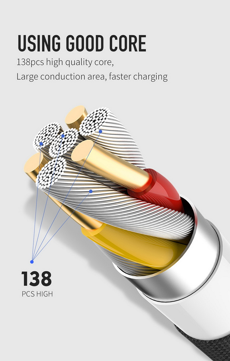 MCDODO Fast Charging Data Cord for iPhone