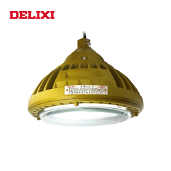 DELIXI BLED63-I LED a prueba de explosiones luz CA 220V 30W 40W 50W IP66 WF1 lámpara industrial Circular a prueba de explosiones