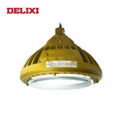 DELIXI BLED63-I, luz LED a prueba de explosiones, CA 220V 30W 40W 50W IP66 WF1, lámpara industrial Circular a prueba de explosiones