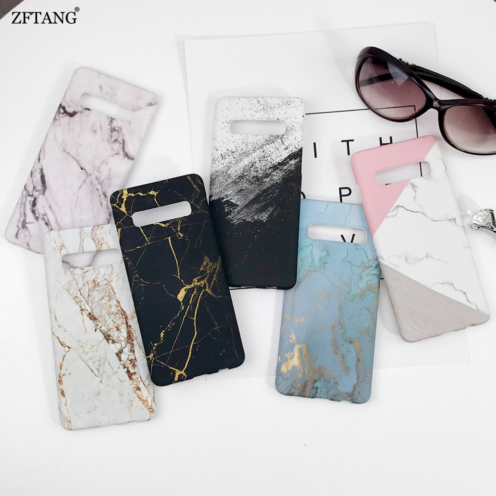 Ultra-thin Marble <font><b>Phone</b></font> <font><b>Cases</b></font> For <font><b>Samsung</b></font> Galaxy S10 <font><b>S9</b></font> S8 Note 10 Plus S10E Note 8 9 S7 Edge <font><b>Case</b></font> <font><b>Hard</b></font> PC Matte Back <font><b>Cover</b></font> image