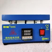 Heating Station UYUE 946C Hot Plate Preheat LCD Digital Preheating Station Phone Screen Replace Preheat Station
