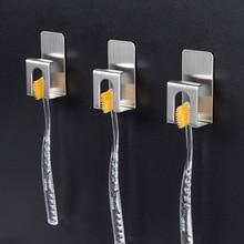 Держатель для зубных щеток из нержавеющей стали 304, держатель для электрической зубной щетки для детей и взрослых