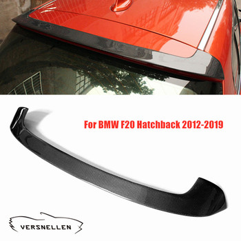 De fibra de carbono alerón de techo para BMW F20 Hatchback 2012-2019 maletero trasero parte trasera de ala para serie 1 F20 Spoiler trasero P estilo