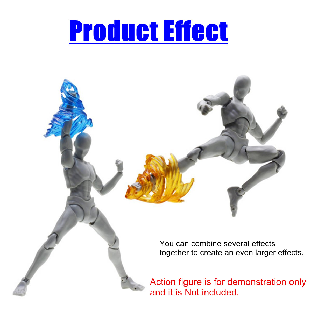 Image 2 - Plastic Tamashii Screw Impact Effect Model Kamen Rider Figma SHF Action Figure Kick Toys Special Effect Action Toy FiguresAction & Toy Figures   -