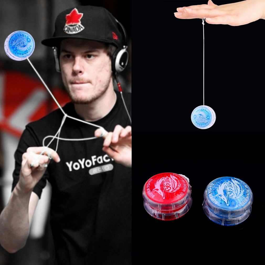 1pc Colorful Magic Yoyo Toys For Kids Plastic Easy to Carry yo-yo Toy Party Boy Classic Funny Yoyo Ball Toys Gift