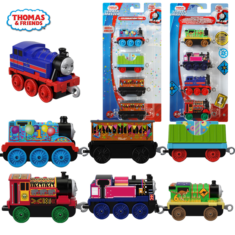 Thomas and Friend Original <font><b>1:43</b></font> Alloy Train Toy Model <font><b>Car</b></font> Kids Toys for Children Oyuncak Araba Education Brinquedos Boys Gifts image