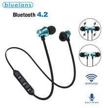 Microphone Headset Magnetic XT11 Universal Wireless Bluetooth In-Ear Sport with Stereo