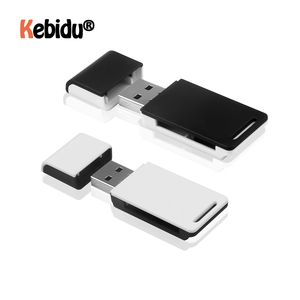Mini Mult-function Card Reader USB 2.0 To SD Micro SD TF Memory Card Adapter For Laptop Accessories Smart Cardreader Card Reader
