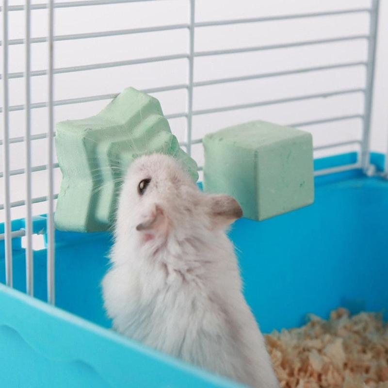1pcs Orthopedic Calcium Hamster Pet Calcareous Rabbit Guinea Pig Chinchilla Calcium Pet Grindstone