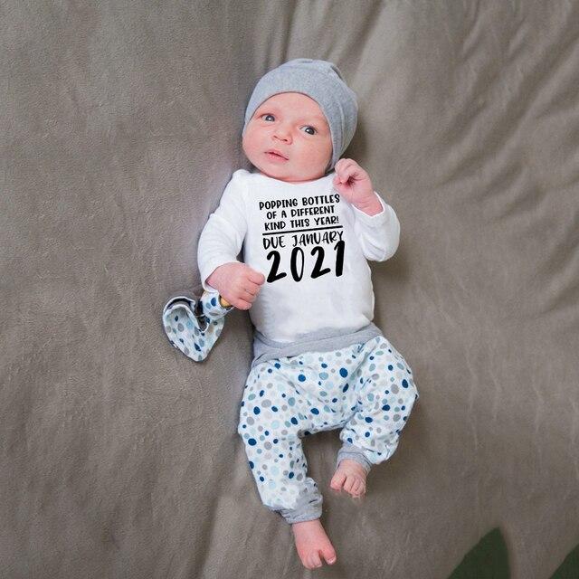 Baby Coming Soon 2021 Onesie 2
