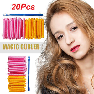 Hairdressing-Tool Hair-Rollers Curling Spiral Leverage Formers Magic Long-Hair DIY 20pcs