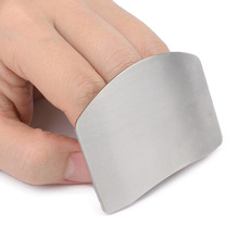 Smart Kitchen Accessories Stainless Steel Cutting Finger Hand Guard Protector Slice Shield New Design Kitchen Cooking Tool liflicon silicone finger protector hand cut knife cutting finger protection tool for cutting slice chop safe cooking protection