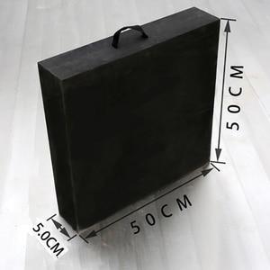 Image 5 - Tir à larc cible de tir ensemble 50*50*5cm EVA mousse cible avec cible papiers ongles Sports de plein air chasse tir à larc accessoires