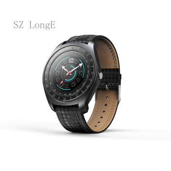 цена на V10 Smart Watch Men with Camera Bluetooth Smartwatch Pedometer Heart Rate Monitor with Sim TF Card Wristwatch for Android Phone