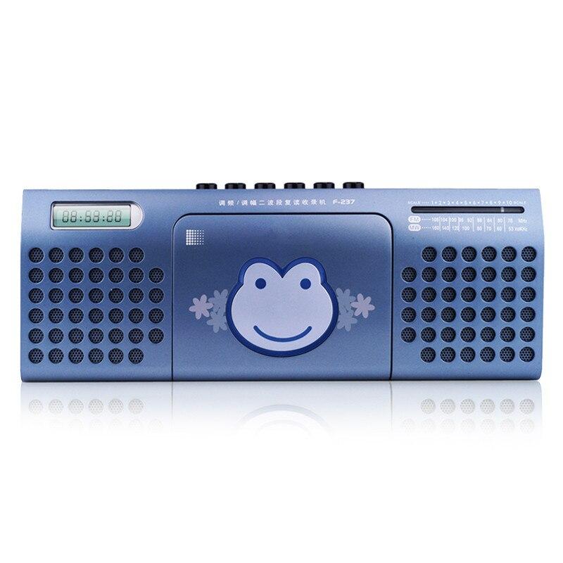 Cheap Brand Tape Recorders /recorder /teaching Machine/ Tape / Cassette Machine / Bass Built-in Double Speaker FM/MW Radio Sound