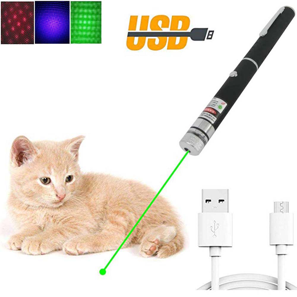 USB Green Red Laser pointer Lasers Sight 10000m 5mw hight Powerful Adjustable Focus Lazer lasers pen Burning Match