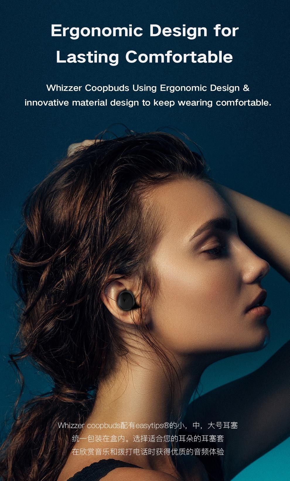 Whizzer C3 APTX TWS Wireless Earbuds 10