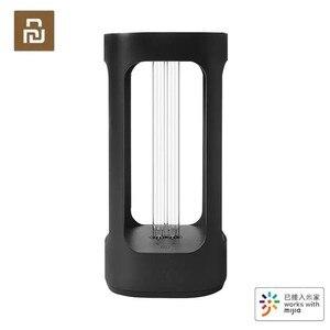 Image 1 - Nieuwe Youpin Vijf Intelligente Desinfectie Lamp Kiemdodende Licht Uvc Sterilisatie Intelligent Menselijk Lichaam Sensor Mijia App Controle