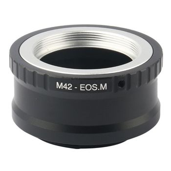 Adjustable M42 Lens to for Canon EOS M M2 M3 EF-M Mirrorless Camera Adapter Ring