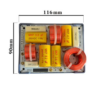 Image 2 - HIFIDIY LIVE  AS 23C 2 Way 2 speaker ( tweeter + bass ) Unit HiFi HOME Speakers audio  Frequency Divider Crossover Filters