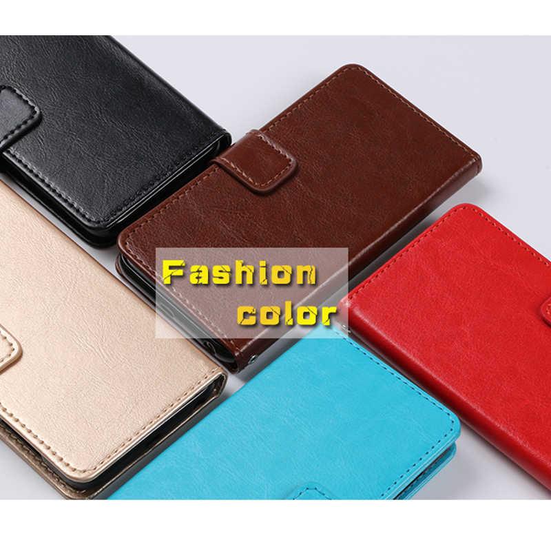 Retro PU Leder Flip Brieftasche Abdeckung Für ZTE Blade A510 A512 A520 A610 A601 A910 X3 L3 L5 L7 Plus a2 A6 V7 V8 Lite V9 Stehen Fundas