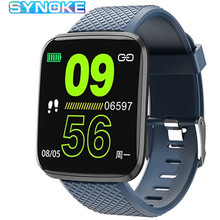 цена на Smart Watch Men Bluetooth IP67 Waterproof Blood Pressure Calories Monitoring Sport Watch Message Reminder Smart Watch Women