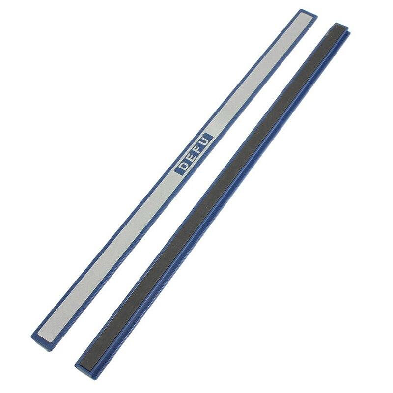 Office Blue Plastic White Board Magnetic Stripe Bars 30cm Length 2 Pcs