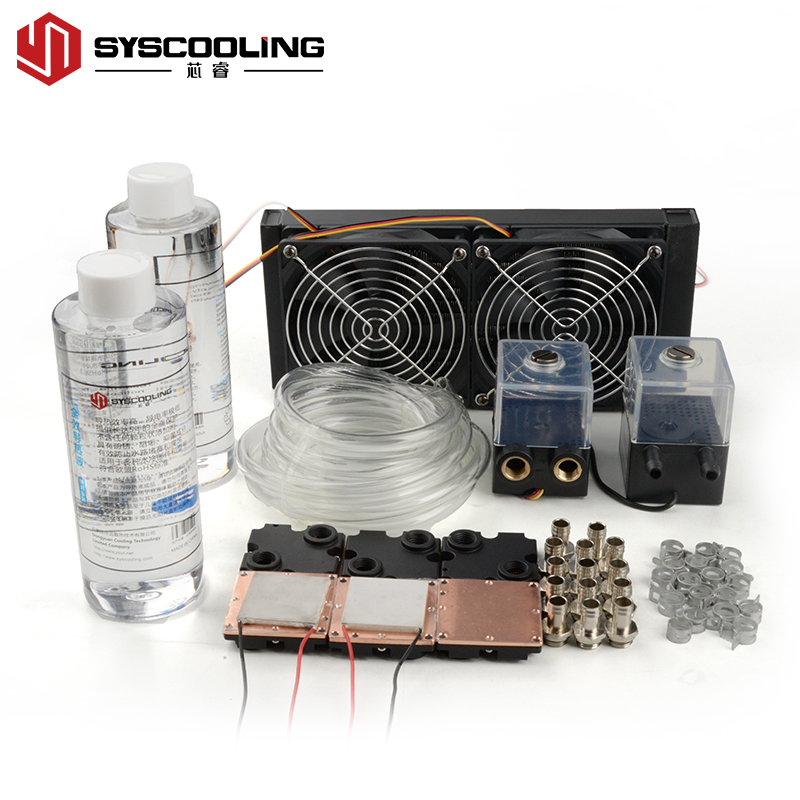 Semiconductor water cooling set DIY water cooling set LED medical laser equipment semiconductor cooling scheme