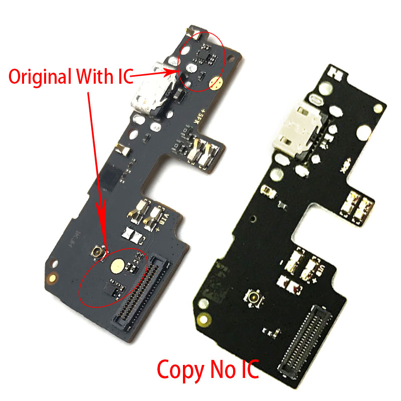 New For Xiaomi Redmi 5 Plus USB Charging Charger Port Micro Dock Charge Connector Flex Cable Board