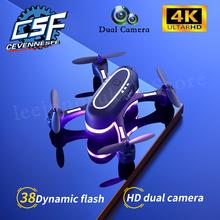2021 nowy LS MINI Drone 4K 1080P HD podwójny aparat z WIFI FPV przepływ optyczny fotografia lotnicza Profesional zdalnie sterowany Quadcopter zabawki dla chłopców tanie tanio CEVENNESFE CN (pochodzenie) 80-100 meters 1080p FHD 720P HD 4K UHD 480P SD inny Mode2 4 kanały 4-6y 7-12y 12 + y 18 + Oryginalne pudełko